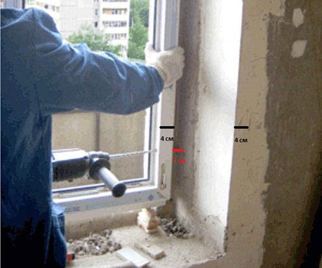 Технология установки пластиковых окон.