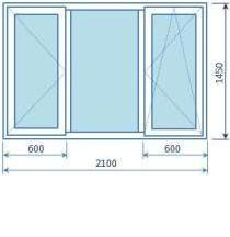 Стандартные размеры окон в кирпичных девятиэтажных домах все.