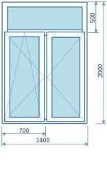 Стандартные размеры окон в сталинских домах все о пластиковы.