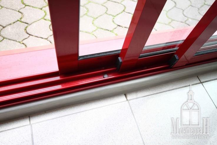 Окна в красном цвете все о пластиковых окнах - информационны.