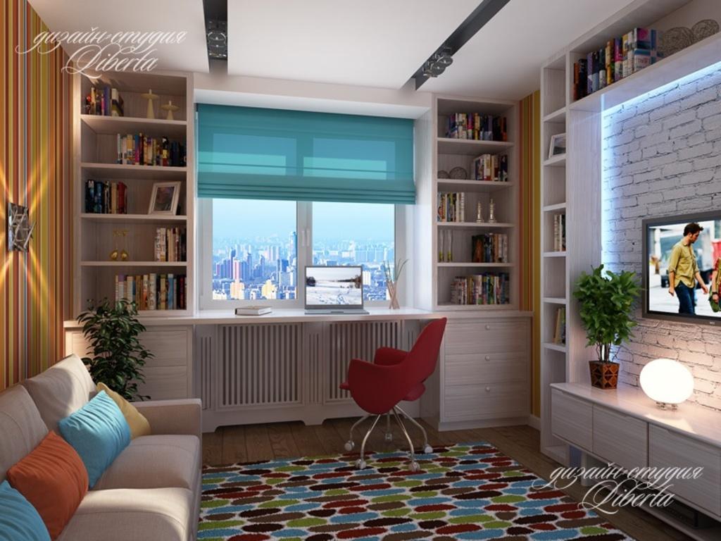 Столешница-подоконник в детской комнате фото купить новый искуственный стол Ситне-Щелканово