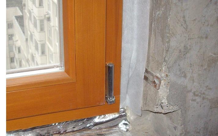 Материалы для монтажа пластиковых окон.