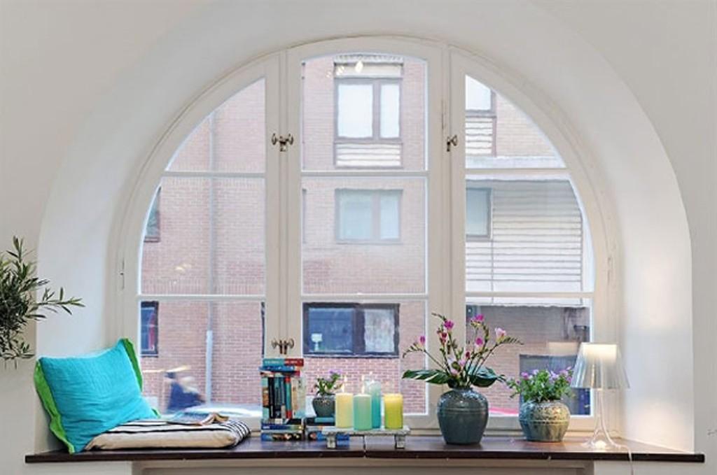 Фото пластиковых окон дизайн интерьера
