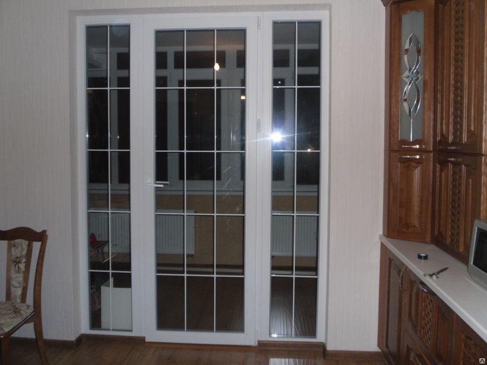 Дверь вместо окна на лоджию