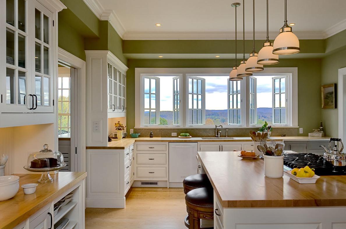 Дизайн кухни окна фото