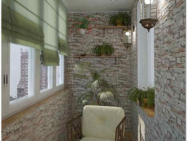 Варианты отделки балкона внутри - выбирайте оптимальный для .