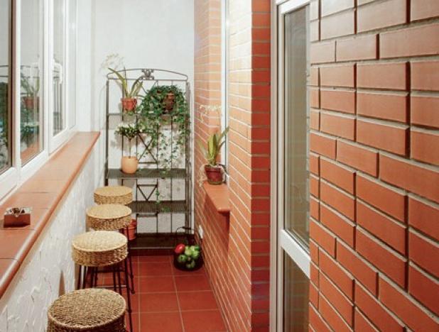 Оформление балкона, лоджии внутри, дизайн, фото, интерьер вс.