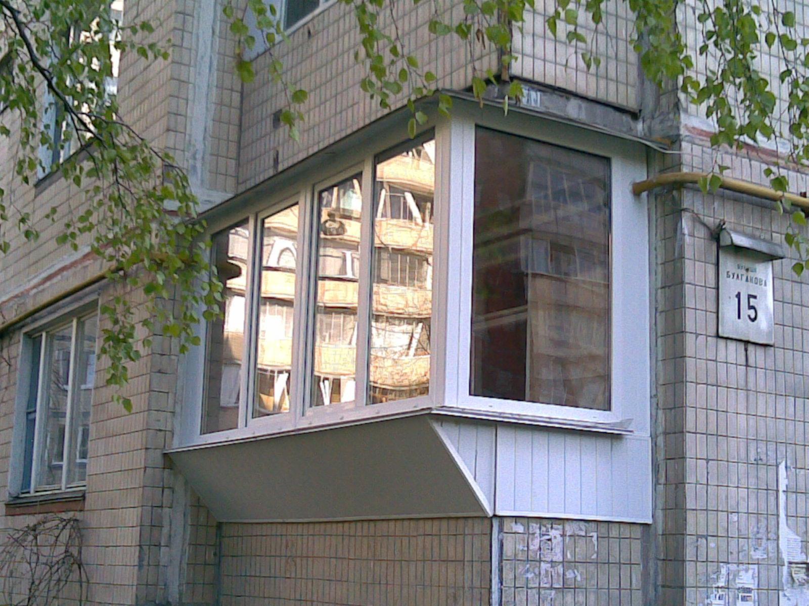 Расширение балкона, способы расширения балкона, как правильн.