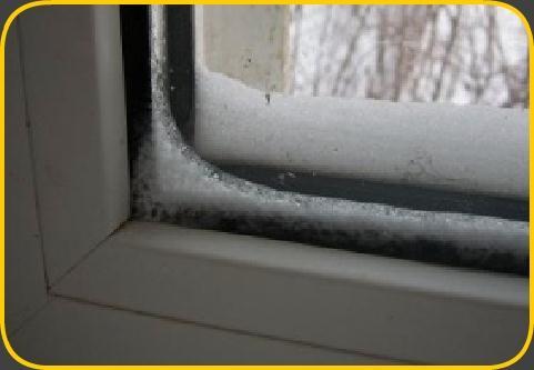 Почему потеют пластиковые окна, откуда конденсат внутри окна.