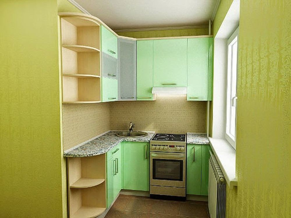 Как сделать в маленькой лоджии кухню