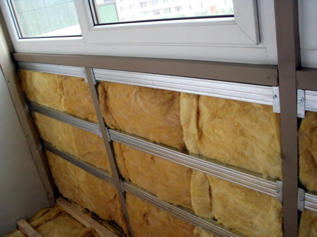 Обшивка балкона вагонкой, подготовка балкона перед обшитием .