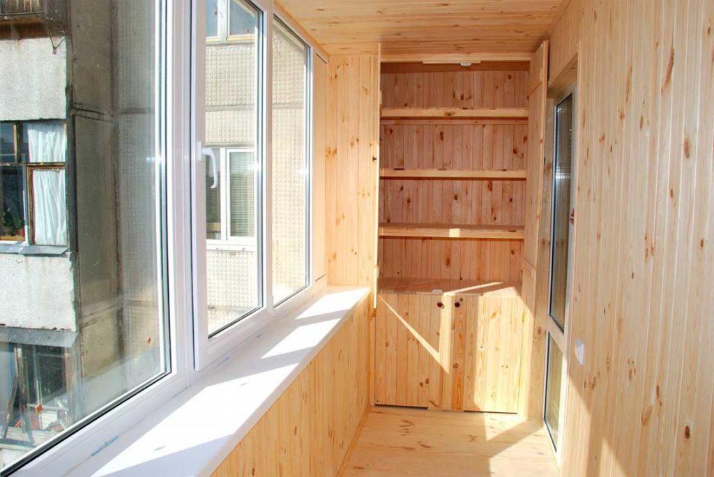 Как сделать балкон изнутри