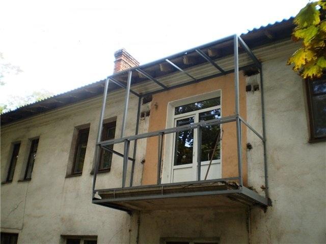 Укрепление балкона в хрущевке.