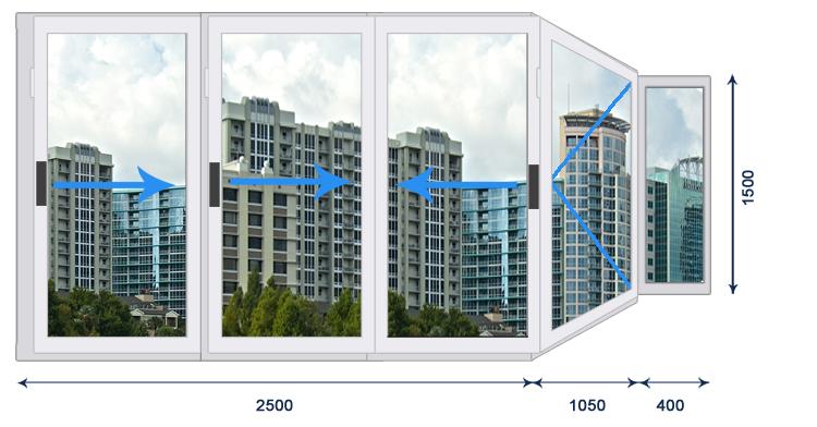 Холодное остекление балкона, плюсы и минусы холодного остекл.