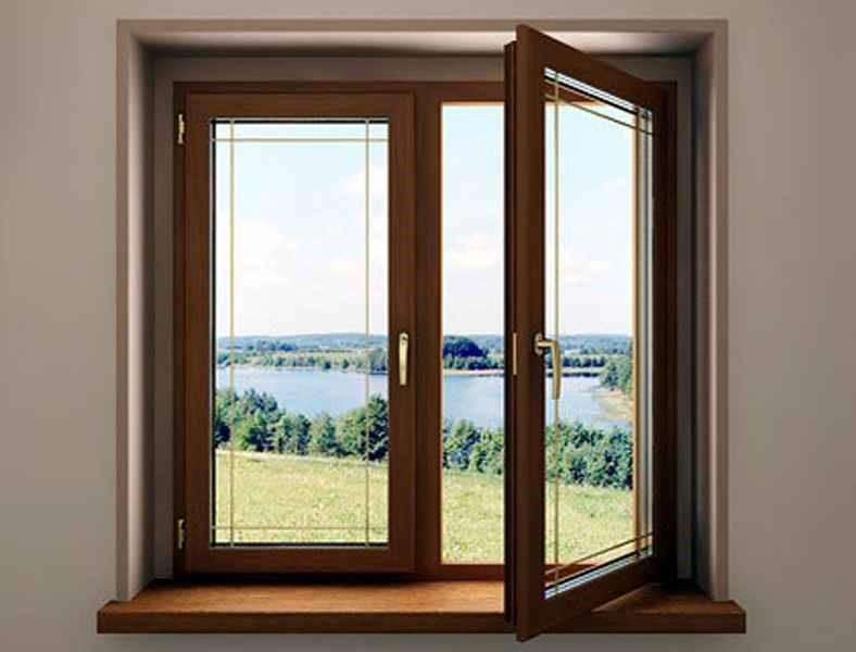 Рис. 4. Ламинация на окнах отлично подходит для балконов