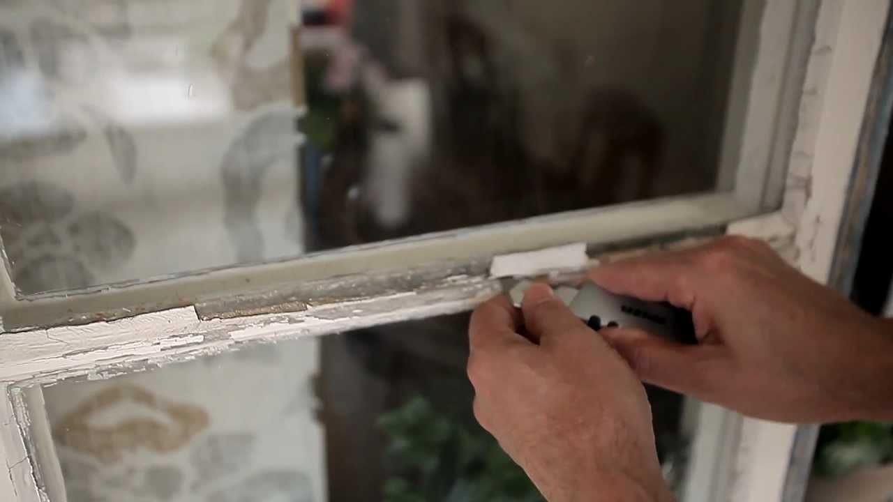 Рис. 5. Реставрация старых деревянных окон