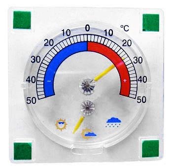Рис. 7. Уличный термометр для окон «Барон»