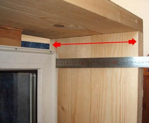 Фото деревянных панелей для откосов окна