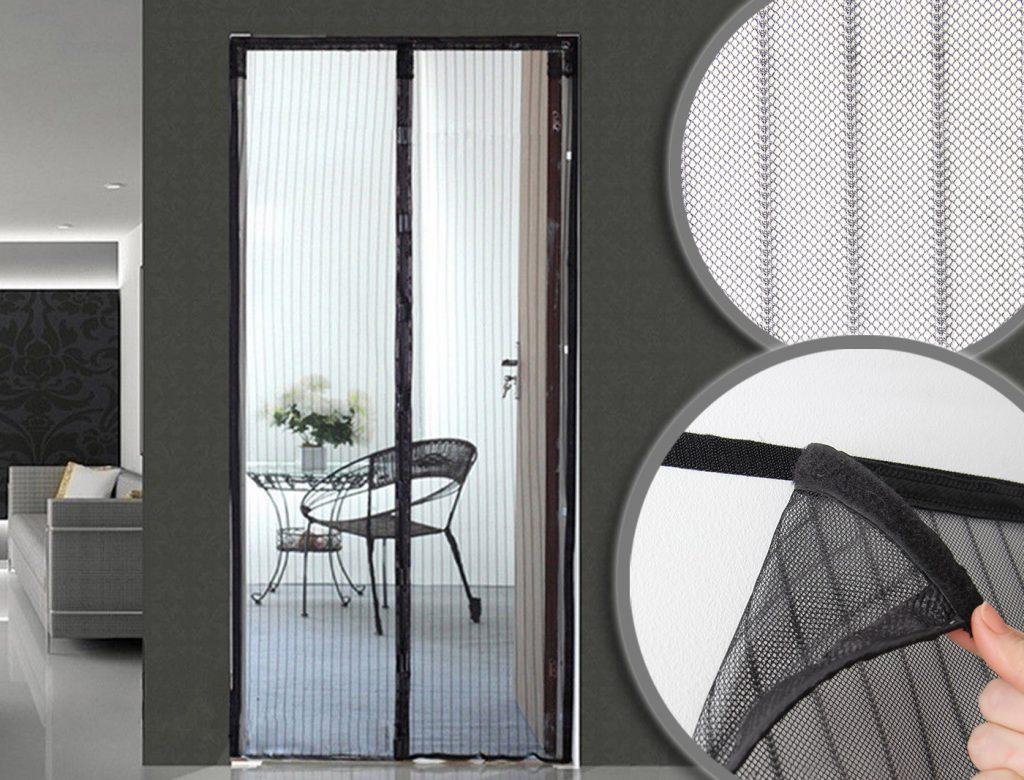 Москитные сетки на двери - виды, преимущества и недостатки.