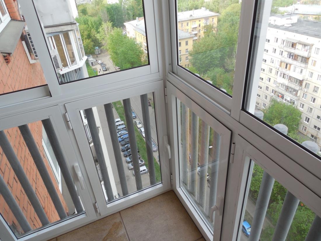 Французские балконы - преимущества