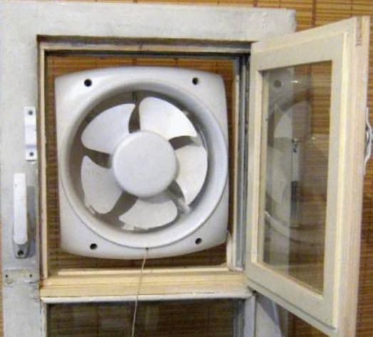 Рис. 2. Оконный вентилятор применим к любому типу окна